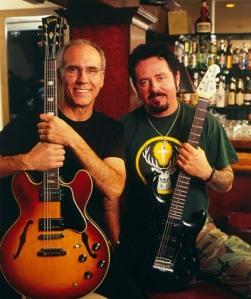 Larry Carlton och Steve Lukather - jazzrock som funkar.