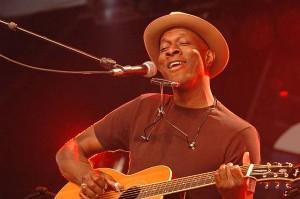 Keb' Mo' - lysande röst och gitarrspel.