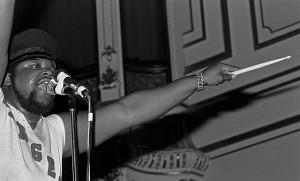 Buddy Miles - började lira med Hendrix
