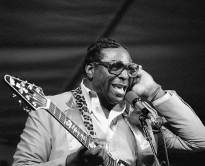Albert King. Foto: Larry Miller