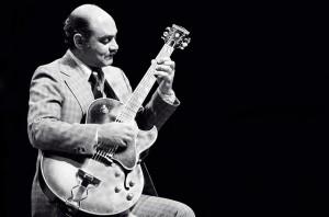 Joe pass - gitarrist i absoluta toppen. Foto: Tom Marcello