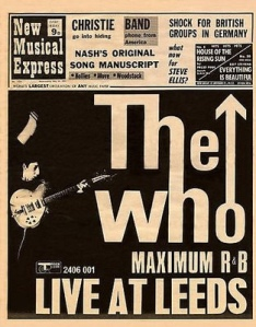 The Who live at Leeds.