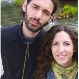 Aris och Sofia - på jakt efter bostad i Stockholm.